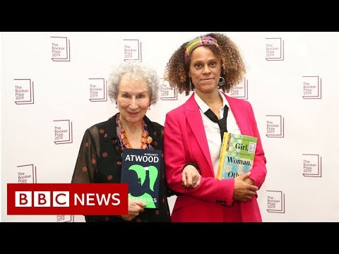 Booker Prize shared by Atwood and Evaristo - BBC News