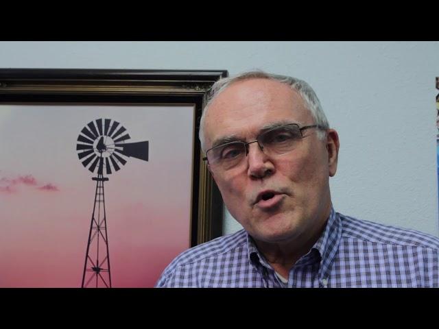 Bob Kracht agradeciendo el apoyo que brinda a Radio Esperanza!