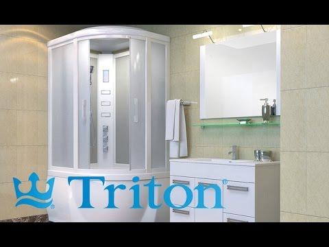 Душевые кабины TRITON Альфа и Омега