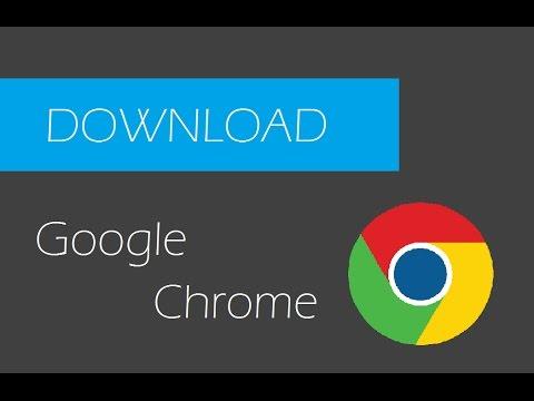 Comment télécharger Google Chrome gratuitement - YouTube