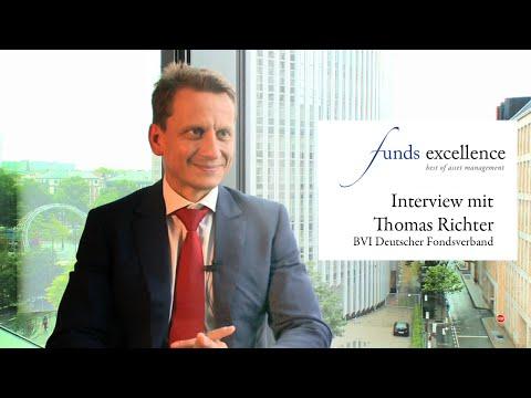 funds excellence 2014 - Interview mit Thomas Richter, Hauptgeschäftsführer BVI