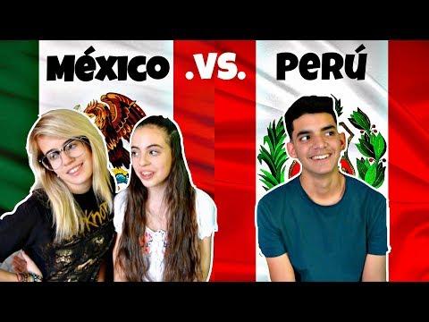 Frases y Palabras Peruanas vs Mexicanas.   Helltles.