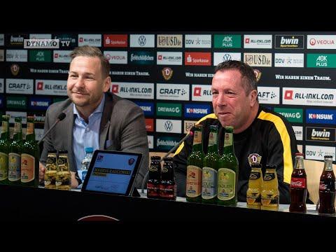 17. Spieltag | OSN - SGD | Pressekonferenz vor dem Spiel