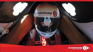 Bloodhound blasts from 0 to 334mph in under 20 seconds