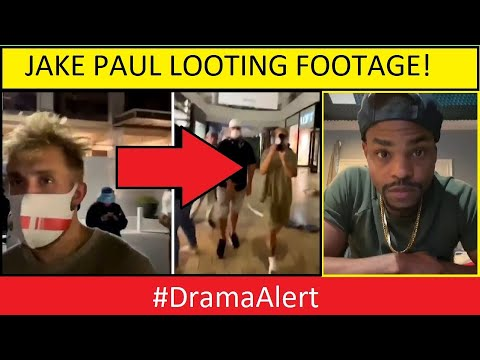 YouTube Star Jake Paul Didn't Loot This Weekend  He Did ...
