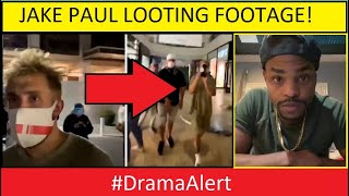JAKE PAUL LOOTING IN RIOTS! #DramaAlert - KING BACH SPEAKS OUT!