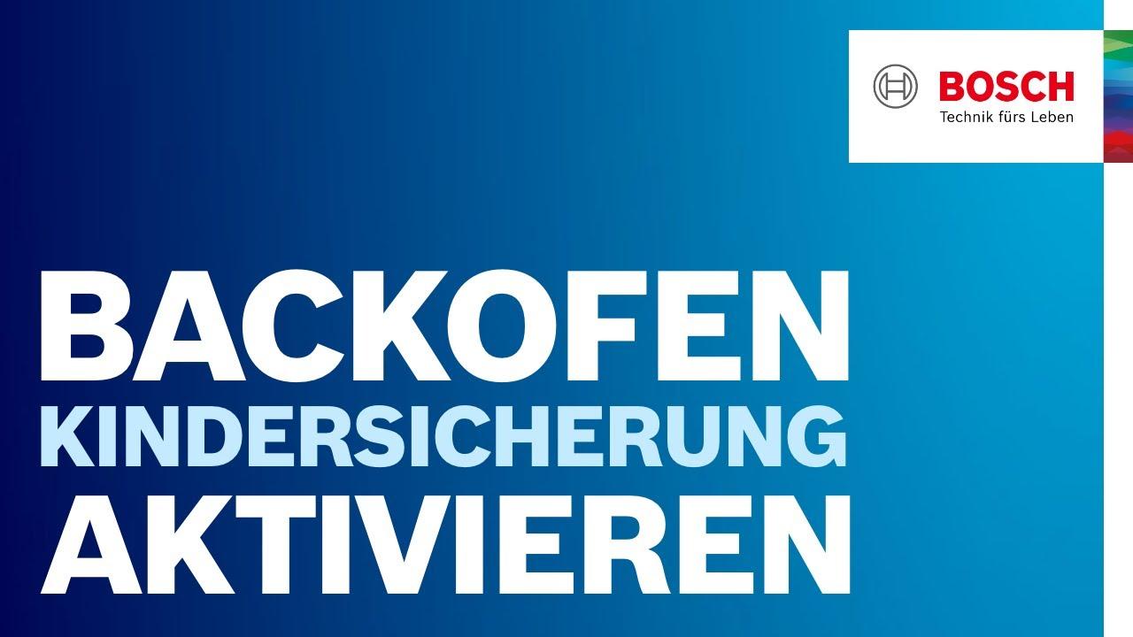 Bosch Kühlschrank Alarm Deaktivieren : Wie aktiviere und deaktiviere ich die kindersicherung? bosch