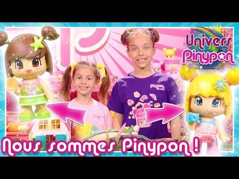 Les PETITES SORCIRES Pinypon transforment LARA et MARA en Pinypon  Elles jettent des sortilges!