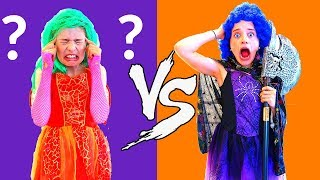 TWIN TELEPATHY HALLOWEEN COSTUME Challenge PART 2 ft The Norris Nuts SIS VS BRO Twin Telepathy