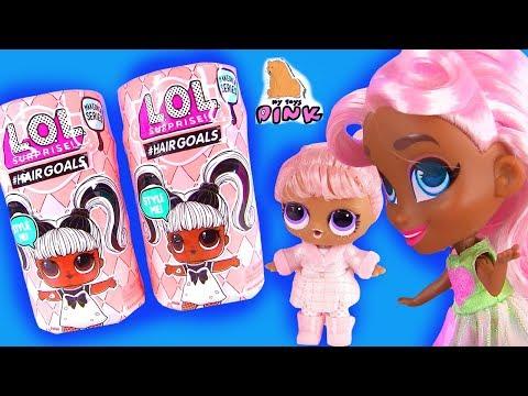 #MAKEOVER! ХОЧУ БЫТЬ КАК СЕСТРА! LOL Surprise Dolls #Hairgoals КУКЛЫ ЛОЛ 5 СЕРИЯ / Май Тойс Пинк