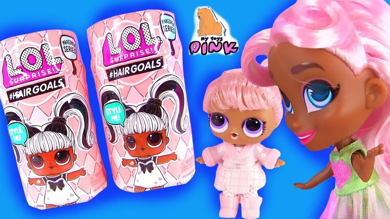 #MAKEOVER! ХОЧУ БЫТЬ КАК СЕСТРА! LOL Surprise Dolls # ...