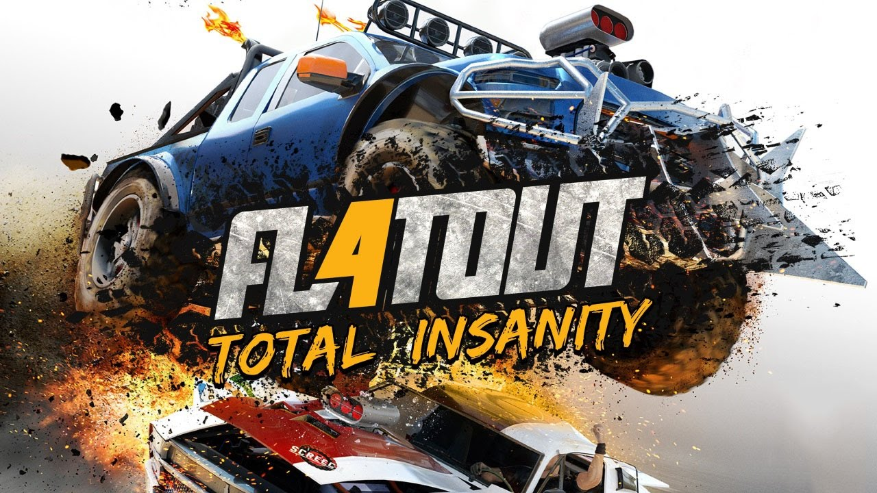 flatout 4 total insanity conferindo o game youtube. Black Bedroom Furniture Sets. Home Design Ideas