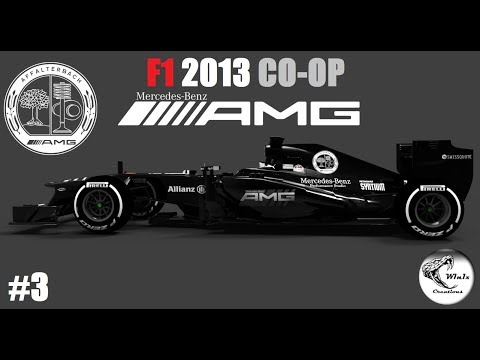 F1 2013 COOP // R03: CHINESE GP // TEAM MERCEDES with AMG // #3