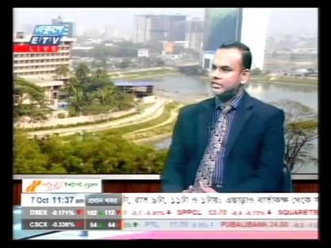 Dr. M.  Mosharraf Hossain, MD & CEO of Prime Finance Capital Management Ltd   on ETV