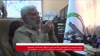 العبادي يزور الموصل تزامنا مع حصار المدينة القديمة