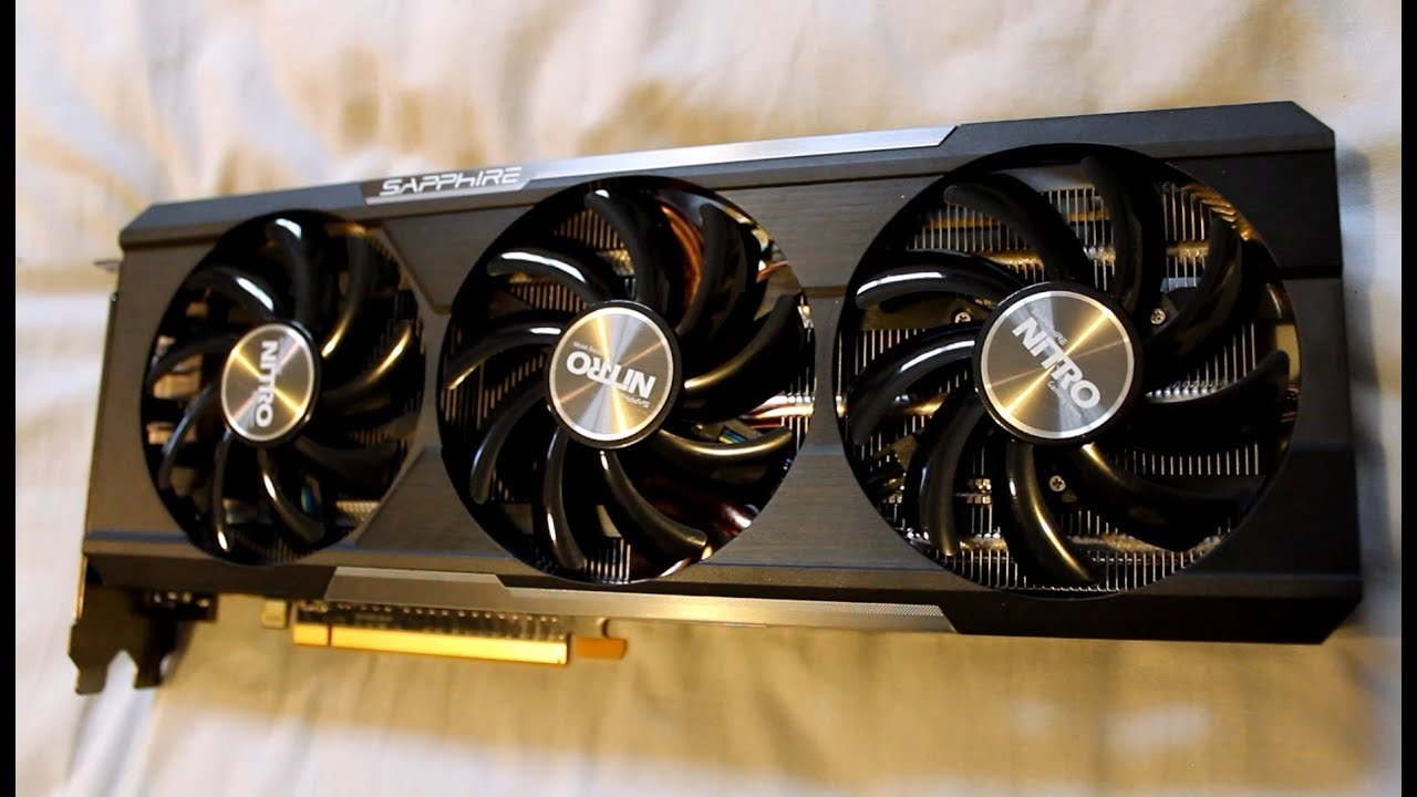 Sapphire Nitro R9 390 Unboxing & Overview