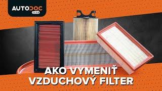 Tipy pre výmena Vzduchový filter