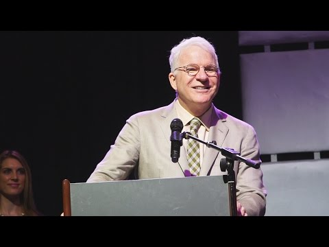 P2 - Steve Martin accepts the 2015 IBMA Distinguished ...