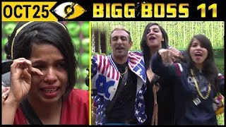 Dhichak Pooja Cries, Makes New Song On Arshi Khan | Bigg Boss 11 October 25  Day 24 | Episode Update