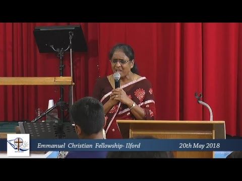 ECF Ilford - Baptism Service 20/05/2018 -London Tamil Church
