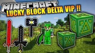 TH P LUCKY DELTA TRONG MINECRAFT  Lucky Nhiu V Kh Vp Qu   Lucky Block Detal