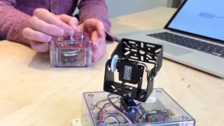 impBot: a pan-tilt Electric Imp Robot