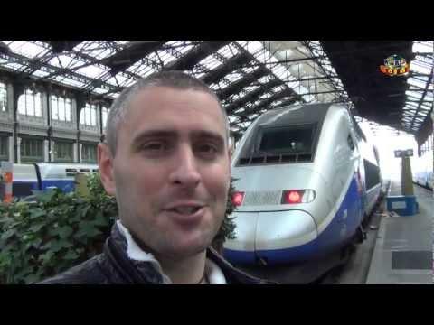 World Culé Paris - Viaje en TGV (Tren alta Velocidad)