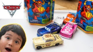 Disney Cars Toys LEROY HEMING REVOLTING 300 Diecast | Ready 2 Robot Unboxing Toy Review