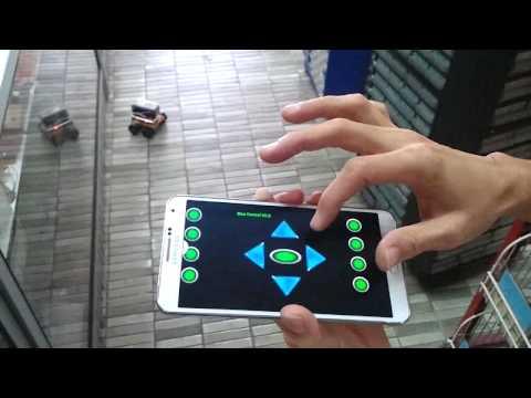 Bluetooth Remote Control Car (DIY Hobby Kit)