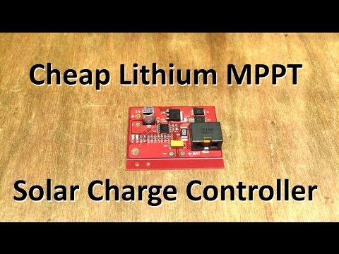 Cheap(est?) Lithium MPPT Solar Charge Controller CN3722 - 12v Solar Shed