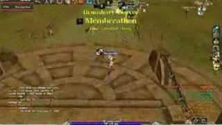 Psyborg & Tupesadilla vs various in Archlord game