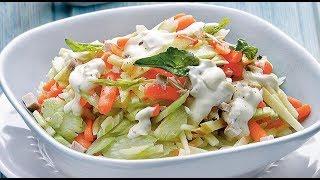 САМЫЙ ВКУСНЫЙ Салат из сельдерея! | сельдерей для похудения как готовить