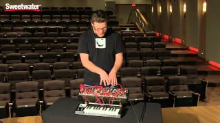 Pittsburgh Modular Foundation 3 Modular Analog Synthesizer Demo - Sweetwater Sound
