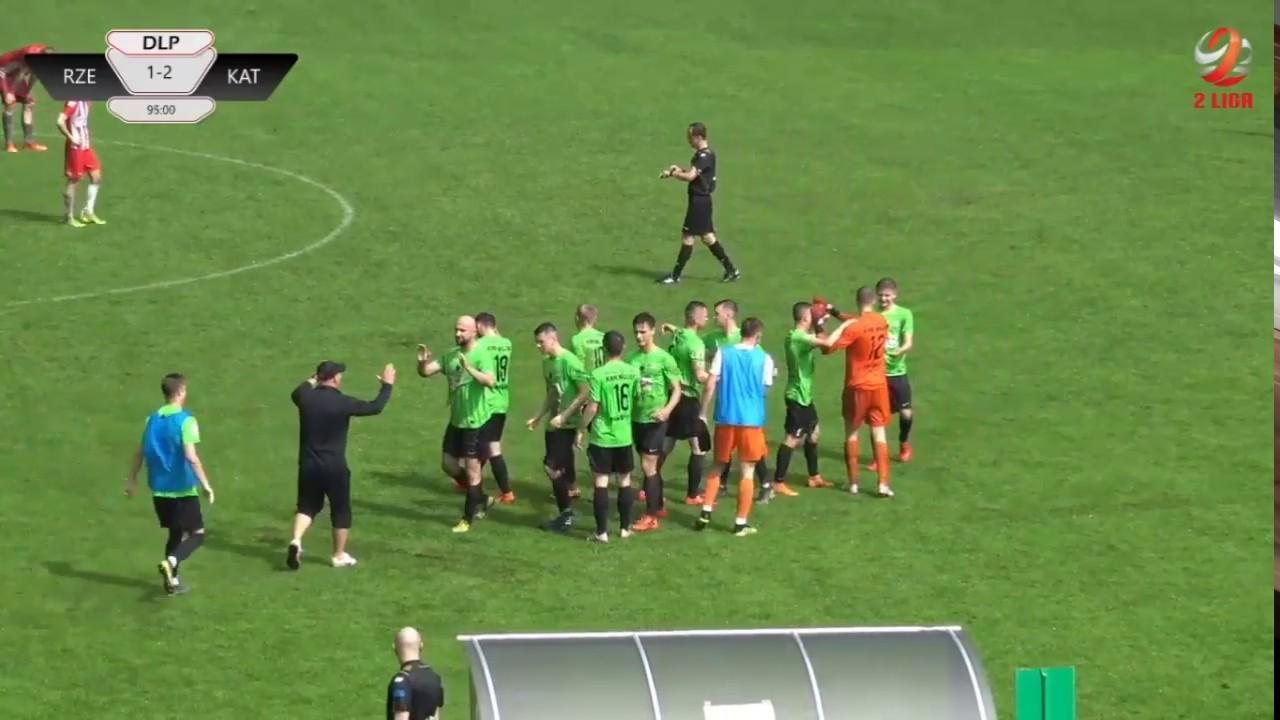Resovia - Rozwój Katowice 1:3 (gole)