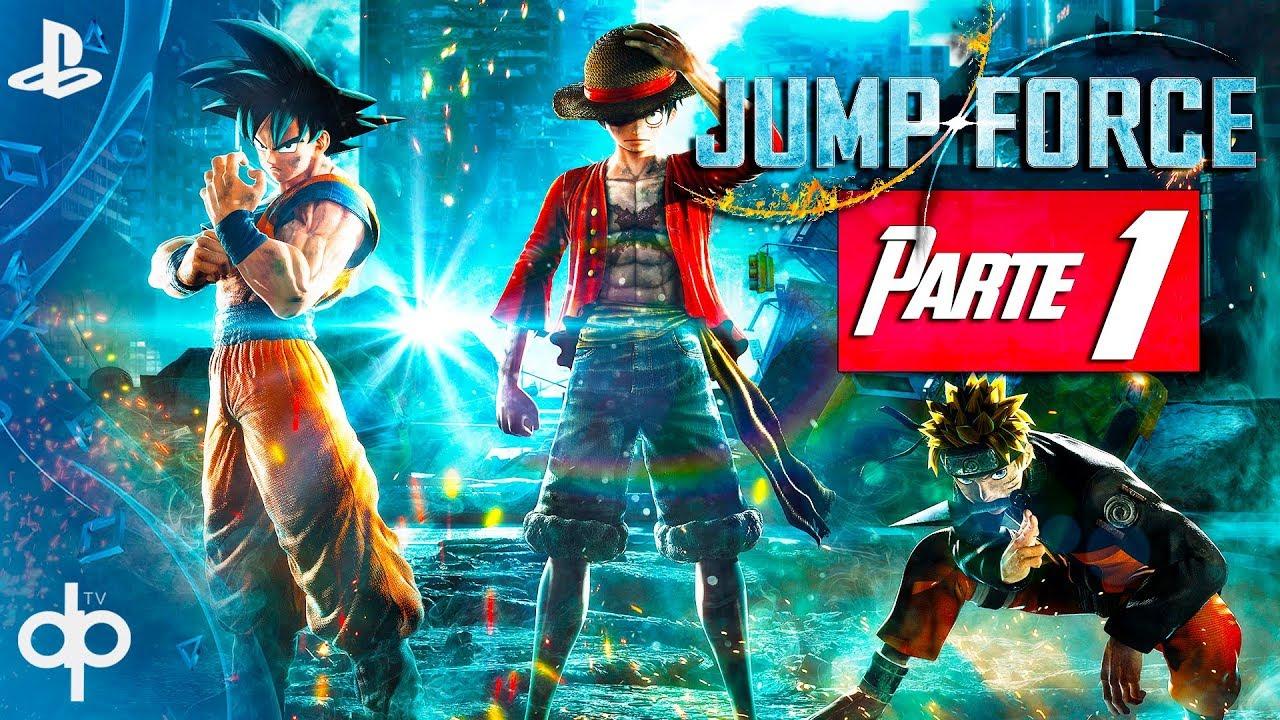 JUMP FORCE - Parte 1 Modo Historia | Gameplay Español PS4 | Prologo Capitulo 1: Semillas del mal