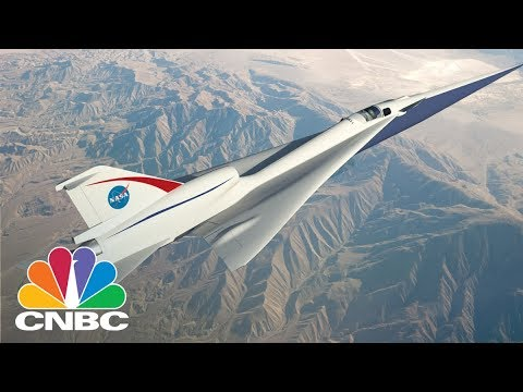Lockheed Martin And NASA Are Building A Supersonic Plane That's As Quiet As Closing A Door | CNBC