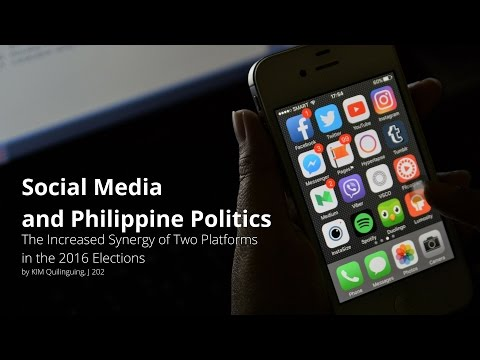 Social Media and Philippine Politics: The Increased Synergy of Two Platforms in the 2016 Elections.