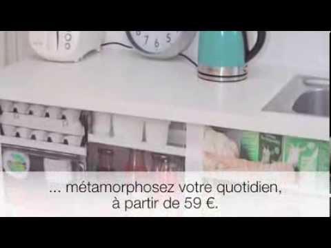 Customisez votre cuisine avec les stickers placard nous youtube - Stickers placard cuisine ...