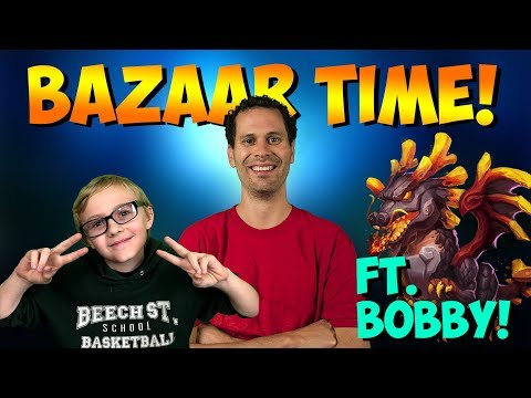 Bobby + JT: Account Overview And BAZAAR TIME!