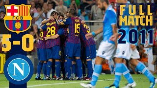 Download FULL MATCH: FC Barcelona – Napoli (2011)
