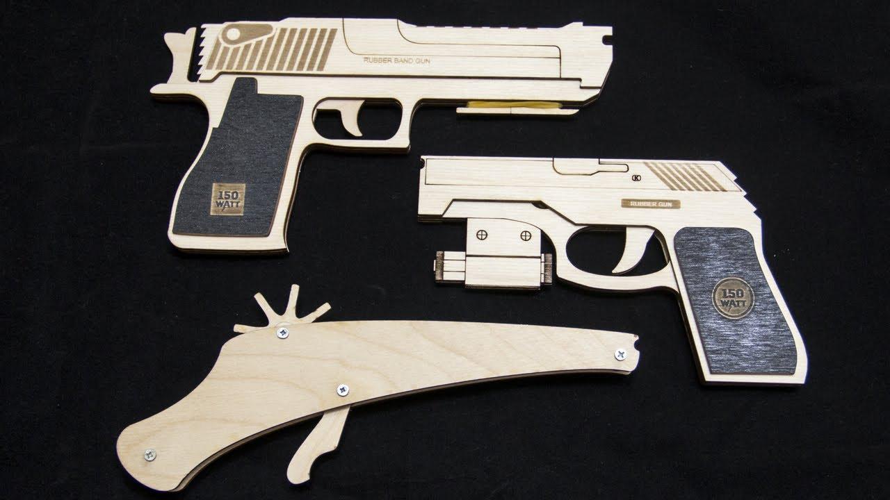 Резинкострелы своими руками