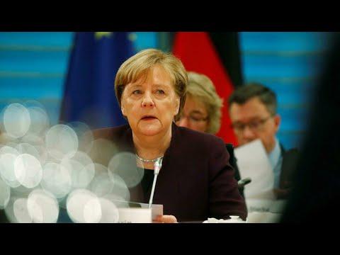 ألمانيا: ميركل تنقذ حكومتها من زلزال سياسي سببه تحالف انتخابي مع اليمين المتطرف  - 15:00-2020 / 2 / 14