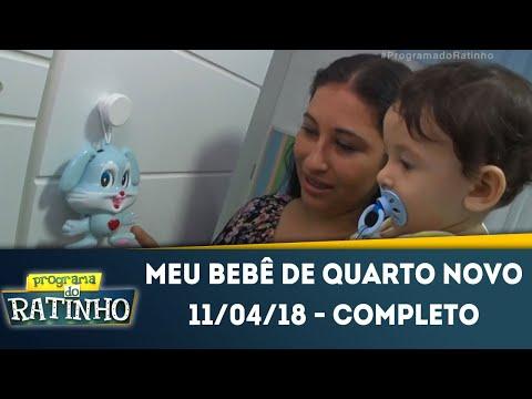 Meu Bebê De Quarto Novo | Programa Do Ratinho (11/04/18)