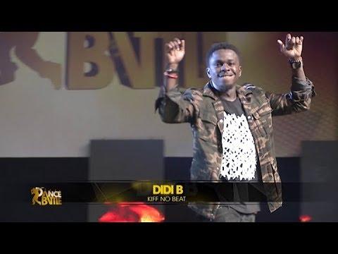 Didi b de kiff no beat: juré spécial de #BDB2018 fait son entrée sur scène