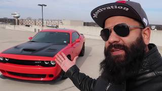 DODGE HELLCAT Reviewed by BIASED Mustang GT Owner!