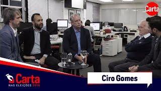 Exclusivo: Ciro Gomes fala sobre suas propostas para a economia do Brasil