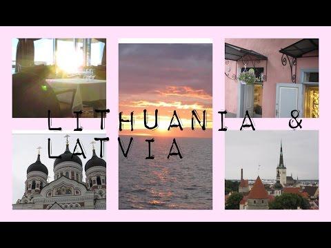 LITHUANIA & LATVIA // TRAVEL VLOG (CRUISE PT 4)