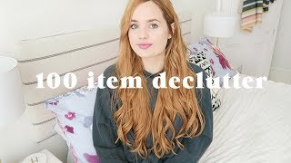 100 item declutter challenge and what I've learned since starting | Sort your life out 4