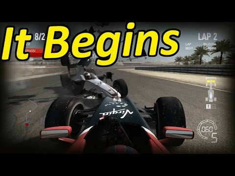 F1 2010 Career Mode Part 1: Bahrain