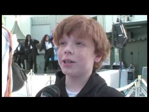 Cameron Monaghan Interview - Happy Feet Premiere